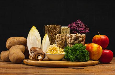 Future Foods Titelbild verschiedene Produkte nebeneinander