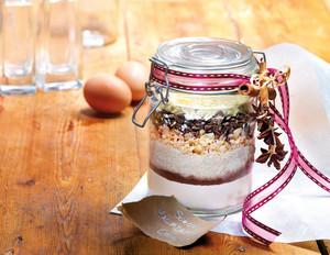 Backmischung für Schoko-Macadamia-Cookies