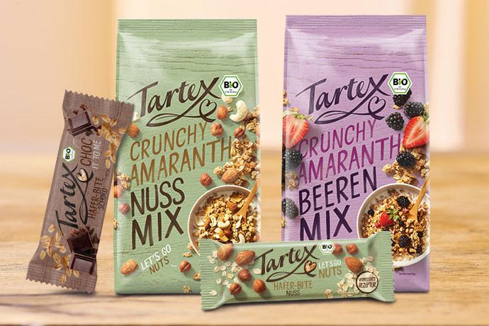 Tartex Crunchy Amaranth Nuss- und Beeren-Mix