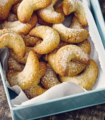 Vanillekipferl Kekse Plaetzchen Keksdose