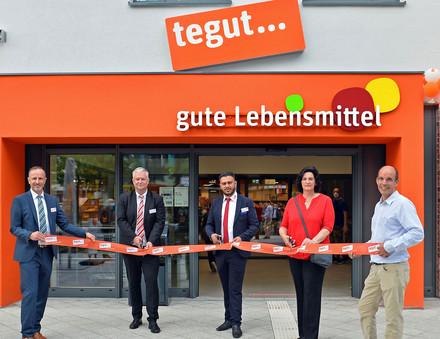 Eröffnung des tegut... Marktes in Offenbach