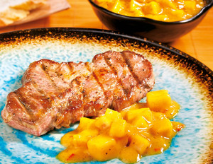 Curry-Mango-Sauce mit Kokos
