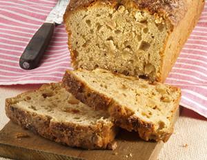Süßes Apfel-Zimt-Brot