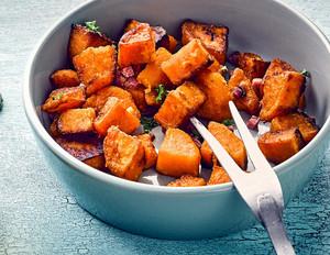 Bratkartoffeln aus Süßkartoffeln