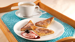 French Toast mit AmarenaQuark