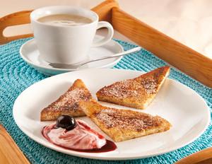 French Toast mit Amarena-Quark