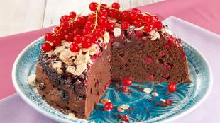 Johannisbeer Schokoladenkuchen
