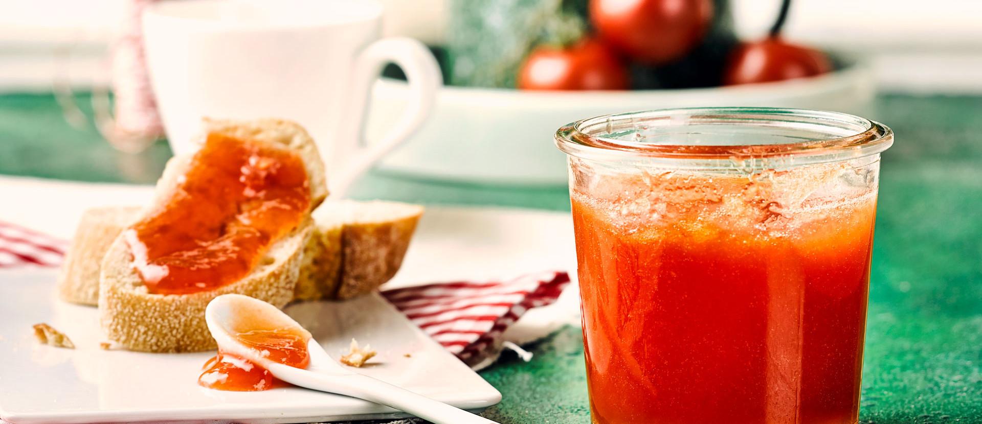 Tomaten Konfituere Baguette