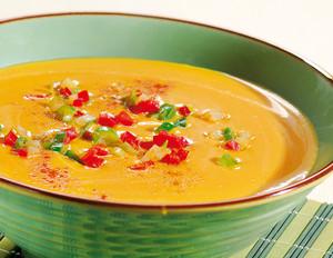 Kürbis Steckrüben Suppe