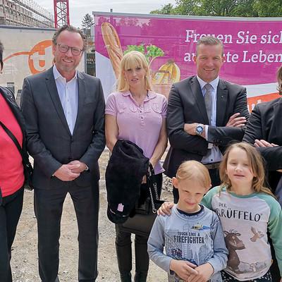 Richtfest Mainz Gruppenbild