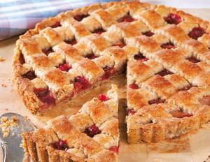 Cranberry-Apfel-Tarte