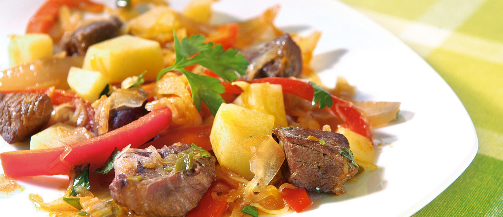 Sauerkraut Paprika Gulasch
