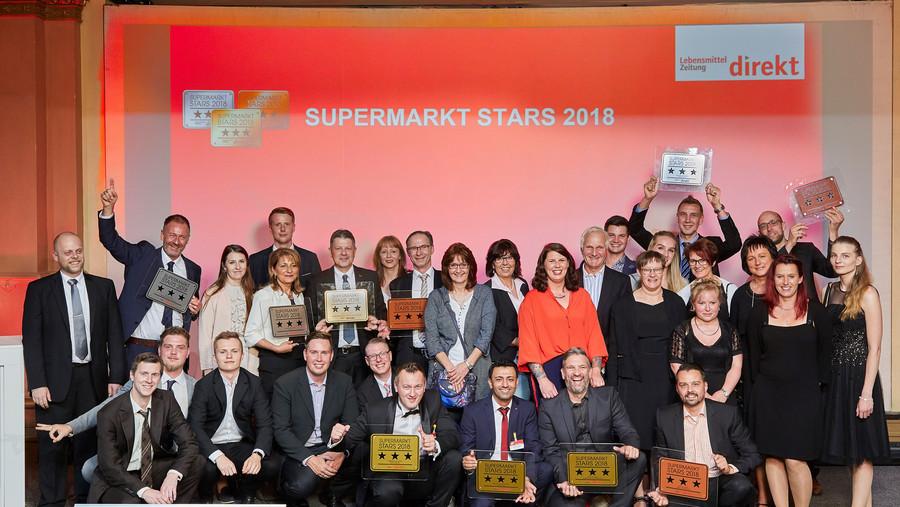 Gewinnerteam Supermarkt Stars 2018