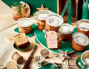 Baumkuchen im Glas
