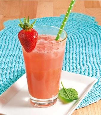 Erdbeer Kokos Drink