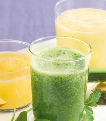 Ananas-Spinat-Smoothie
