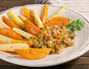 Wurzelgemüse & Süßkartoffeln
