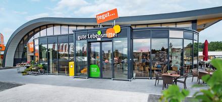 tegut... Markt in Bad Neustadt Außenaufnahme