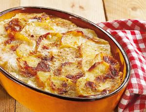 Klassisches Kartoffelgratin