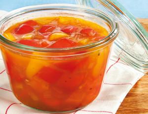 Sonniges Paprika-Relish