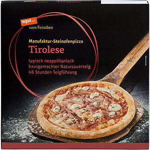 Steinofenpizza Tirolese