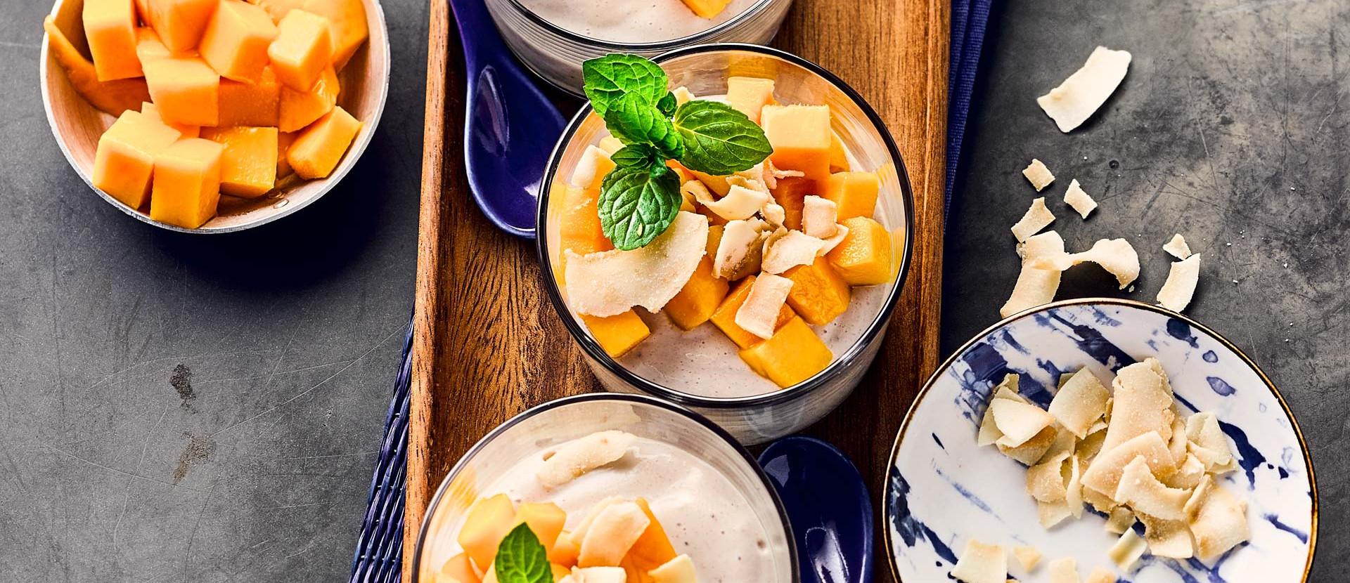 Seidentofu Dessert