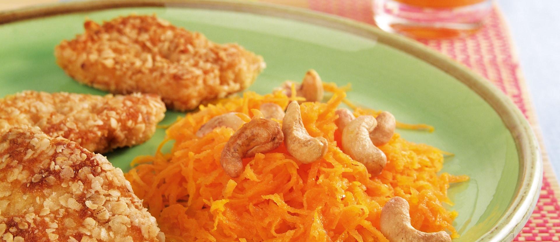 Möhren Cashewsalat