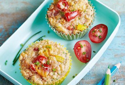 Brotdose mit zwei Muffins