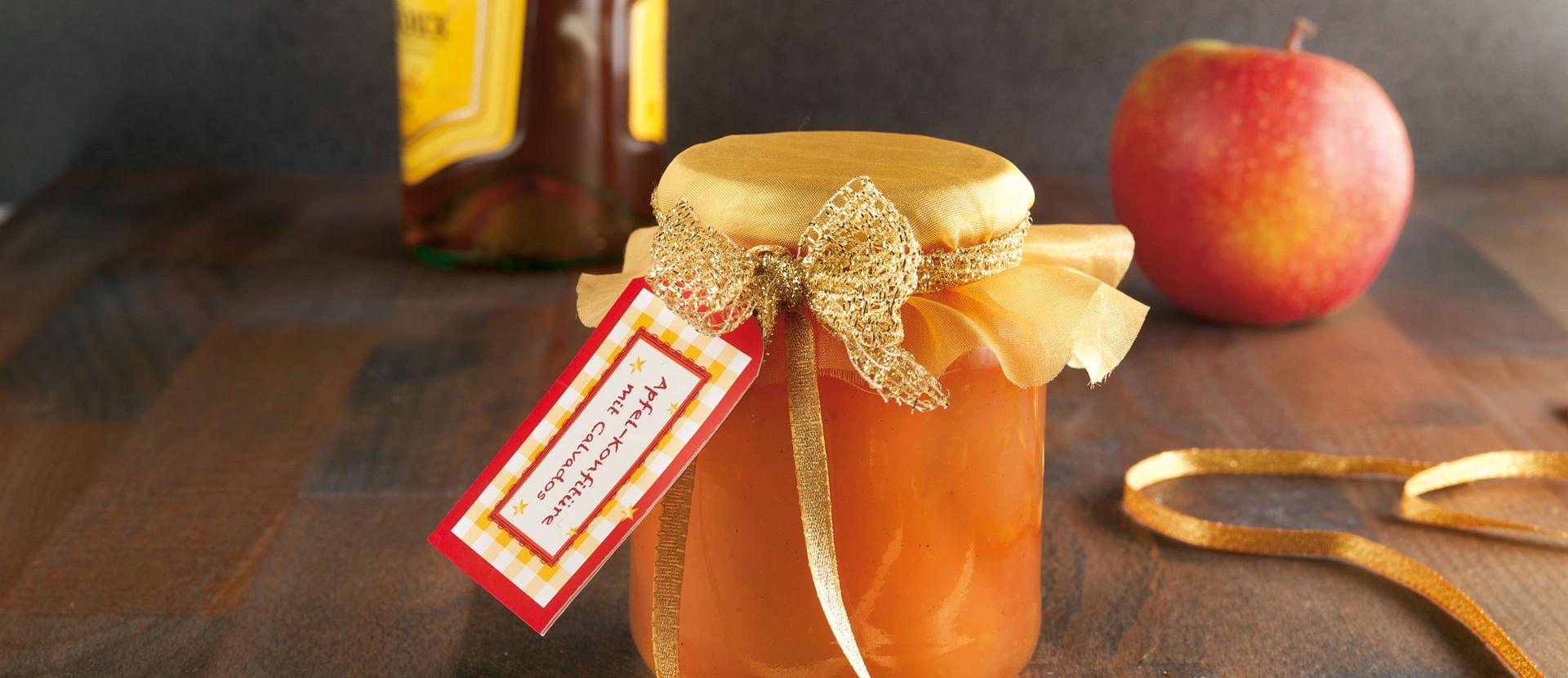 Apfel Konfituere mit Calvados