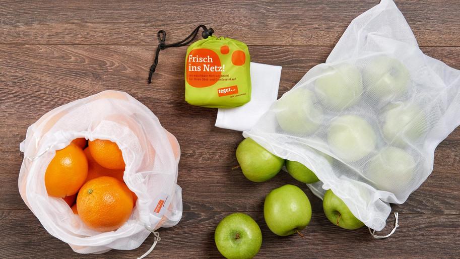 Mehrwegbeutel für Obst und Gemüse