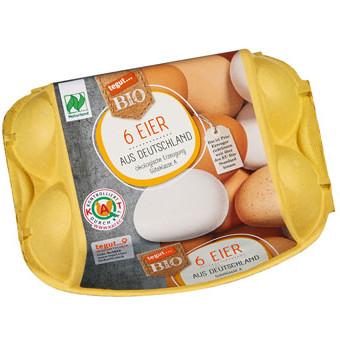 6er Packung Bio-Eier