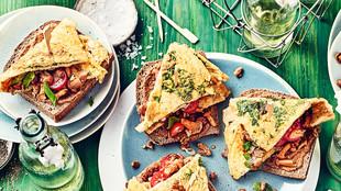 Kraeuter Omelettes