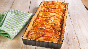 Apfel Walnuss Tarte