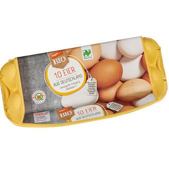 10er Packung Bio-Eier