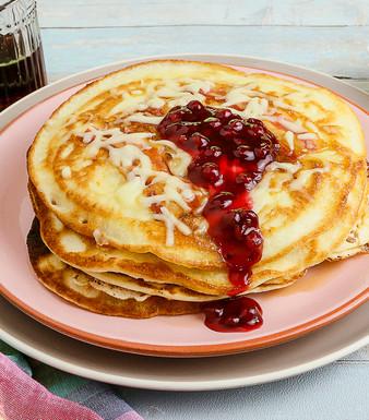 Deftig-süße Pfannkuchen