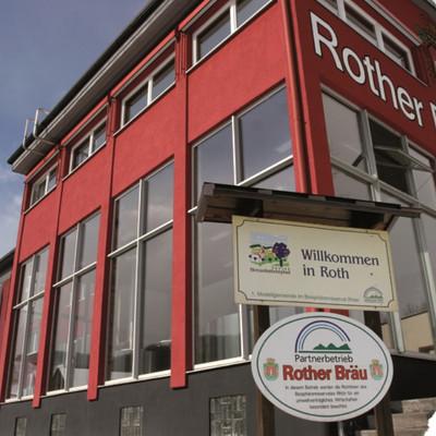 Außenaufnahme Brauerei Rother Bräu