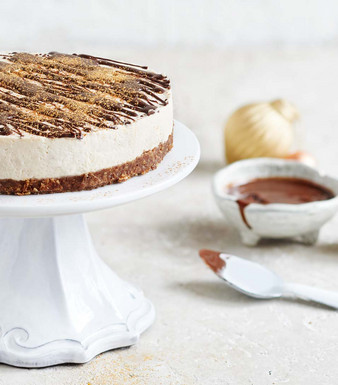 New York Chai Cheesecake