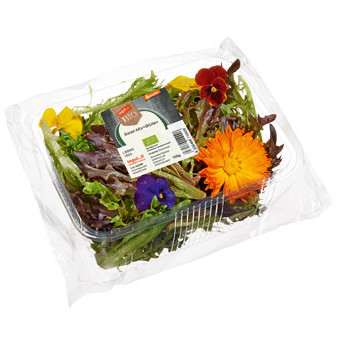 Salatmix Blüten
