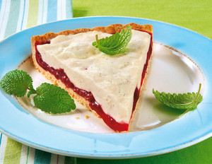 Rote-Grütze-Vanillecreme-Tarte