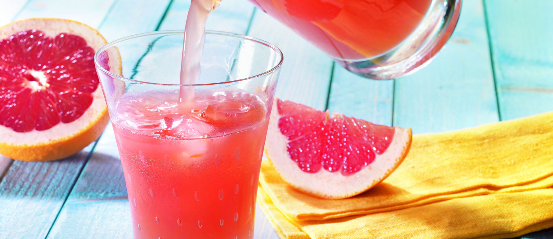 Pink Grapefruit Limonade