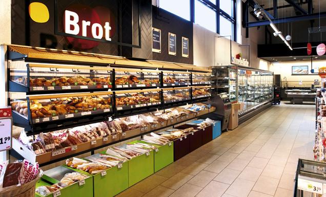 Brottheke im tegut... Markt Wiesbaden