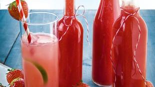 Erdbeerlimes Vodka