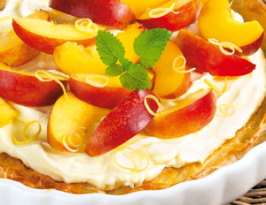 Nektarinen-Joghurt-Torte