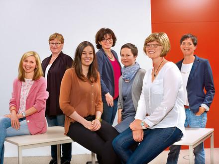 7 Damen der tegut... Kundenbetreuung