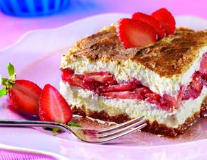 Erdbeer-Tiramisu mit Stevia