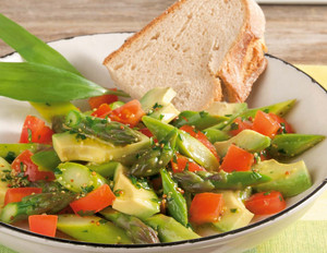 Spargel-Avocado-Salat