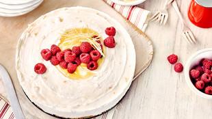 Zitronen Himbeer Torte Lemon Curd Kuchen