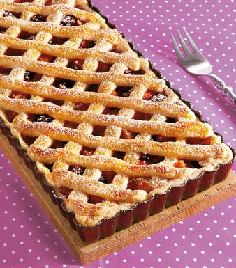 Aprikosen-Brombeer-Pie
