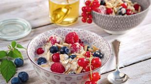 Quinoa Porridge Beeren
