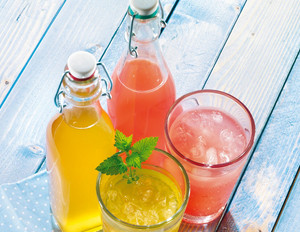 Pink-Grapefruit-Limonade